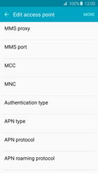Samsung A510F Galaxy A5 (2016) - MMS - Manual configuration - Step 10