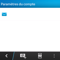 BlackBerry Q5 - E-mail - Configuration manuelle - Étape 5