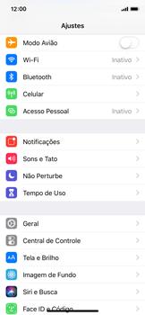 Apple iPhone X - iOS 12 - Funções básicas - Como restaurar as configurações originais do seu aparelho - Etapa 3
