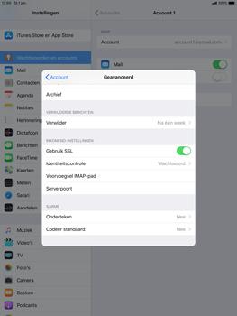 Apple ipad-air-10-5-inch-2019-model-a2123 - E-mail - Account instellen (IMAP met SMTP-verificatie) - Stap 24