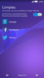 Sony Xperia Z2 - Premiers pas - Créer un compte - Étape 7