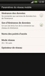 HTC C525u One SV - Réseau - utilisation à l'étranger - Étape 8