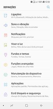 Samsung Galaxy A8 (2018) - Internet no telemóvel - Como ativar os dados móveis -  4