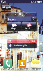 Samsung S8500 Wave - Wifi - handmatig instellen - Stap 1
