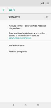 Wiko View 2 - Wifi - configuration manuelle - Étape 5