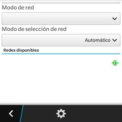 BlackBerry Q5 - Red - Seleccionar una red - Paso 6
