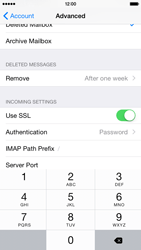 Apple iPhone 6 Plus iOS 8 - Email - Manual configuration IMAP without SMTP verification - Step 25