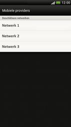 HTC Z520e One S - Netwerk - Handmatig netwerk selecteren - Stap 11