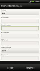 HTC Z520e One S - E-mail - e-mail instellen: POP3 - Stap 10