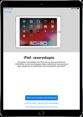 Apple ipad-9-7-inch-6th-generation-model-a1954-ios-12 - Instellingen aanpassen - Hoe gebruik ik de Automatisch inloggen-optie - Stap 14