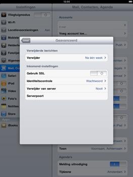 Apple iPad 2 - E-mail - Handmatig instellen - Stap 15