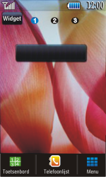 Samsung S5620 Monte - Voicemail - Handmatig instellen - Stap 1