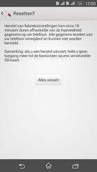 Sony Xperia E4g (E2003) - Resetten - Fabrieksinstellingen terugzetten - Stap 7