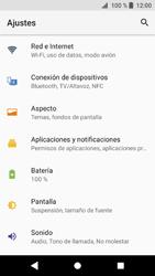 Sony Xperia XZ1 - WiFi - Conectarse a una red WiFi - Paso 4