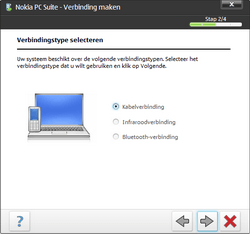 Nokia E63 - Software - PC-software installeren - Stap 13