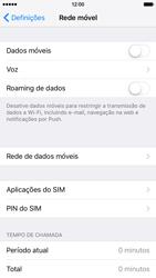 Apple iPhone 6s - Internet no telemóvel - Como ativar os dados móveis -  4