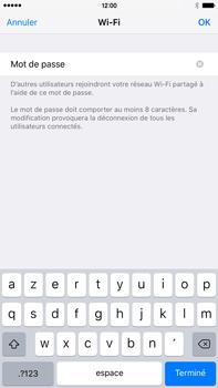 Apple iPhone 6s Plus - Internet et connexion - Partager votre connexion en Wi-Fi - Étape 8