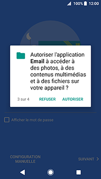 Sony Xperia XA2 Ultra - E-mail - Configuration manuelle (outlook) - Étape 12