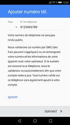 Huawei P9 - Android Nougat - Applications - Créer un compte - Étape 13