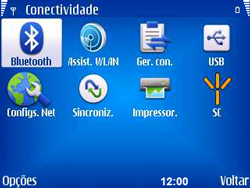 Nokia E5-00 - Bluetooth - Como ajustar configurações do Bluetooth - Etapa 5