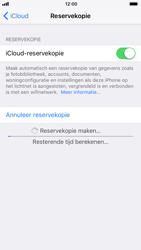 Apple iPhone 7 iOS 11 - iOS 11 - Automatische iCloud-reservekopie instellen - Stap 8