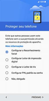 Samsung Galaxy S8 - Primeiros passos - Como ativar seu aparelho - Etapa 10