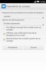 Alcatel Pop S3 (OT-5050X) - E-mail - Configuration manuelle - Étape 19