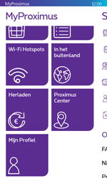 Microsoft Lumia 532 - Applicaties - MyProximus - Stap 20