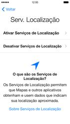 Apple iPhone iOS 7 - Primeiros passos - Como ativar seu aparelho - Etapa 12
