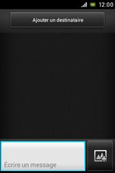 Sony ST23i Xperia Miro - MMS - envoi d'images - Étape 3