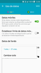 Samsung Galaxy J3 (2016) DualSim (J320) - Internet - Ver uso de datos - Paso 7