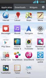 LG P710 Optimus L7 II - Voicemail - Handmatig instellen - Stap 3