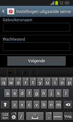 Samsung I9105P Galaxy S II Plus - E-mail - Handmatig instellen - Stap 14