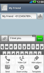 LG P990 Optimus 2X Speed - MMS - Sending a picture message - Step 6