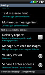 LG P990 Optimus 2X Speed - SMS - Manual configuration - Step 4