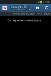 Samsung Galaxy Fame - Email - Adicionar conta de email -  10