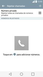 LG C70 / SPIRIT - Chamadas - Como bloquear chamadas de um número -  7