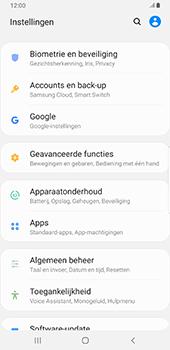 Samsung Galaxy S9 Plus - Android Pie - Toestel - stel Zoek mijn mobiel in - Stap 4