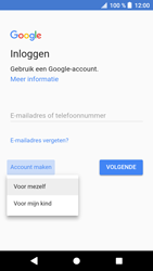 Sony xperia-xa1-g3121-android-oreo - Applicaties - Account aanmaken - Stap 5