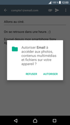 Sony Sony Xperia E5 (F3313) - E-mail - Envoi d