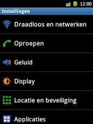 Samsung S5300 Galaxy Pocket - Voicemail - handmatig instellen - Stap 4