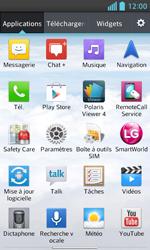 LG Optimus L5 II - Internet et connexion - Accéder au réseau Wi-Fi - Étape 3