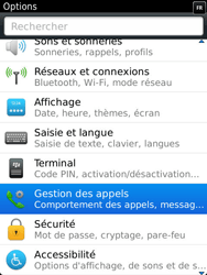 BlackBerry 9810 Torch - Messagerie vocale - Configuration manuelle - Étape 4