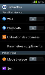 Samsung S7560 Galaxy Trend - Mms - Configuration manuelle - Étape 4