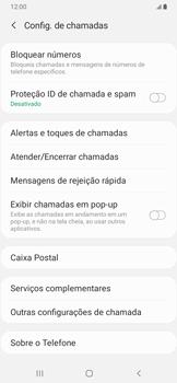 Samsung Galaxy A20 - Chamadas - Como bloquear chamadas de um número específico - Etapa 7