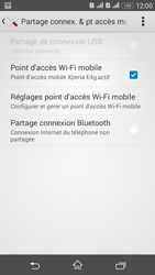 Sony Xperia E4g - Internet et connexion - Partager votre connexion en Wi-Fi - Étape 13