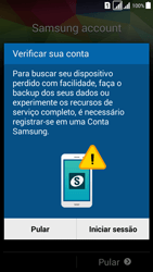 Samsung G530FZ Galaxy Grand Prime - Primeiros passos - Como ativar seu aparelho - Etapa 16