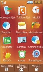 Samsung S5230 Star - Buitenland - Bellen, sms en internet - Stap 3