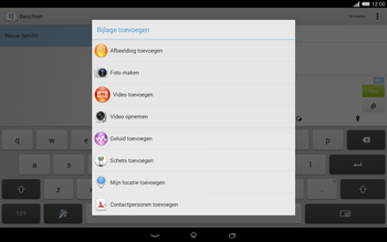 Sony Xperia Tablet Z2 (SGP521) - MMS - afbeeldingen verzenden - Stap 14