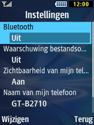 Samsung B2710 Xcover 271 - Bluetooth - Headset, carkit verbinding - Stap 7